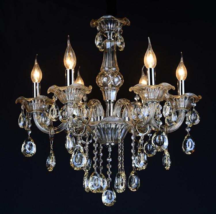 2015 New Crystal Chandelier Noble Luxurious Export K9 Cognic Crystal Chandelier 6/8 Arms  Lustres De Cristal Chandeliers