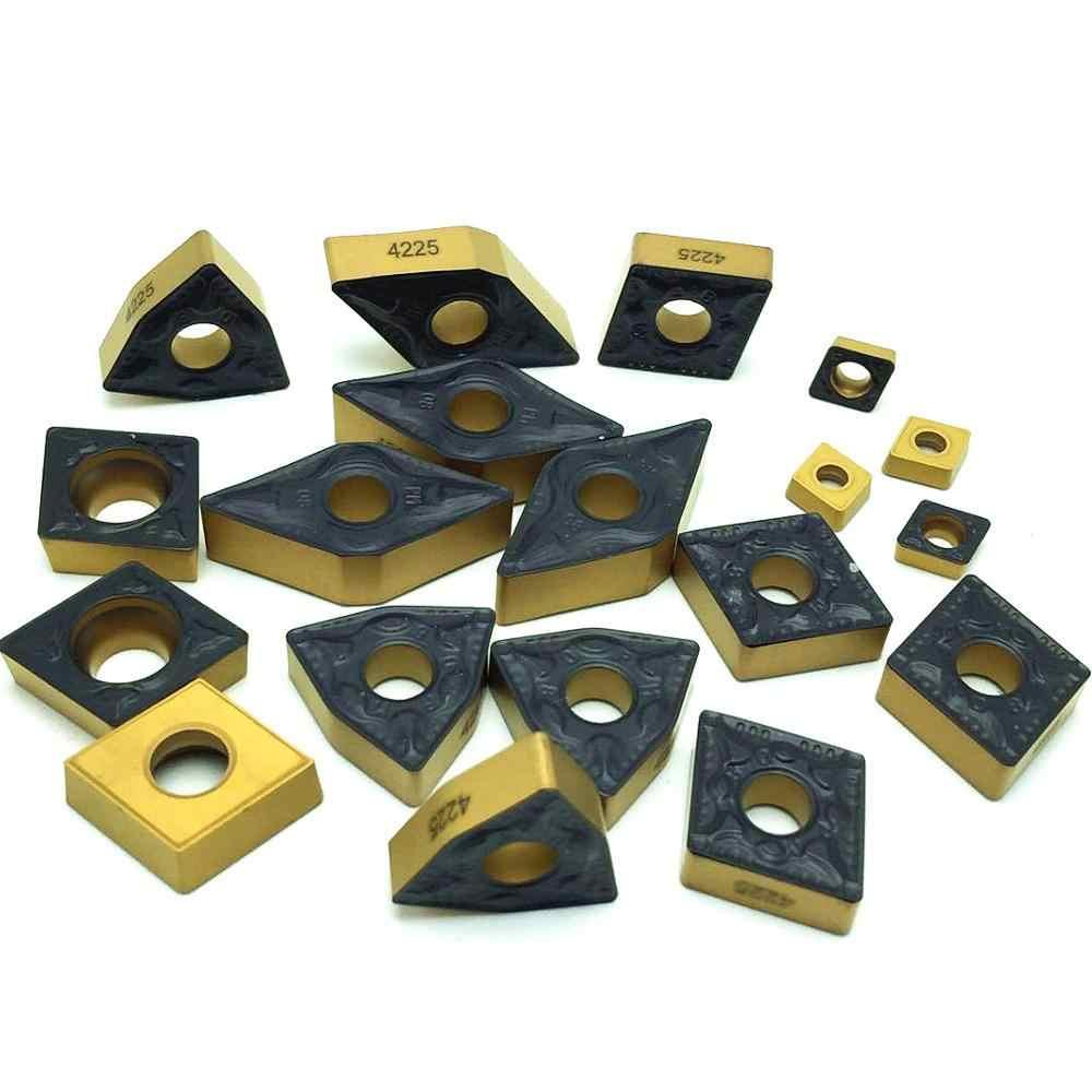 Carboneto de pastilhas de torneamento ferramenta WNMG080404/08 CNMG120404/08 TNMG160404/08 DCMT11T304/08 DNMG150604 CCMT060204 PM 4225 ferramentas de torno