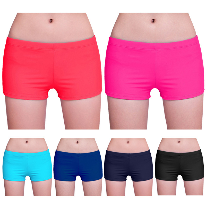 2019 Newly Women Yoga Shorts Bikini Swimwear Bottom Summer Beach Wear Workout Running Pants 19ing