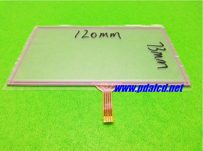 2 pcs wholesale 5-inch 120mm*73mm Touchscreen for Garmin Nuvi 1490 1490T 1490TV AT050TN33 AT050TN34 Touch panel Glass Digitizer