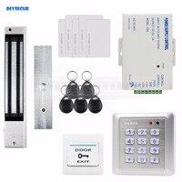 Diysecur Водонепроницаемый 280 кг магнитный замок 125 кГц RFID считыватель пароль дверной Управление доступом безопасности Системы замок двери ком