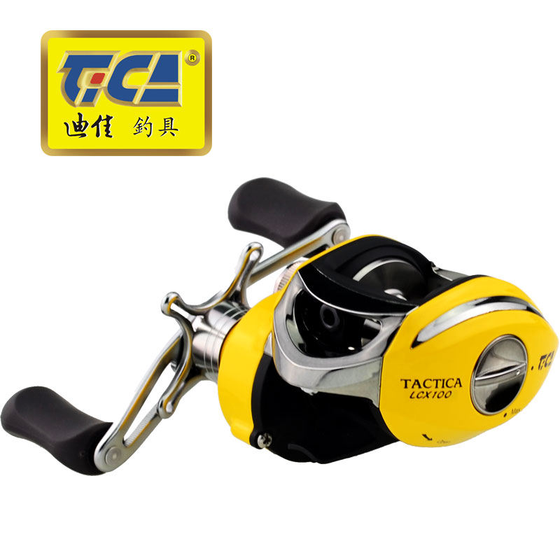 TICA High Speed Fishing Reel 2BB 2NMB 6 3 1 carp fishing Baitcasting Reel Bait Casting
