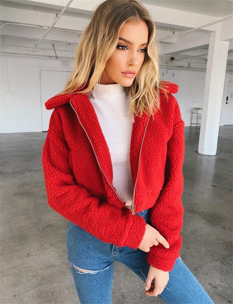 Teddy coat women04