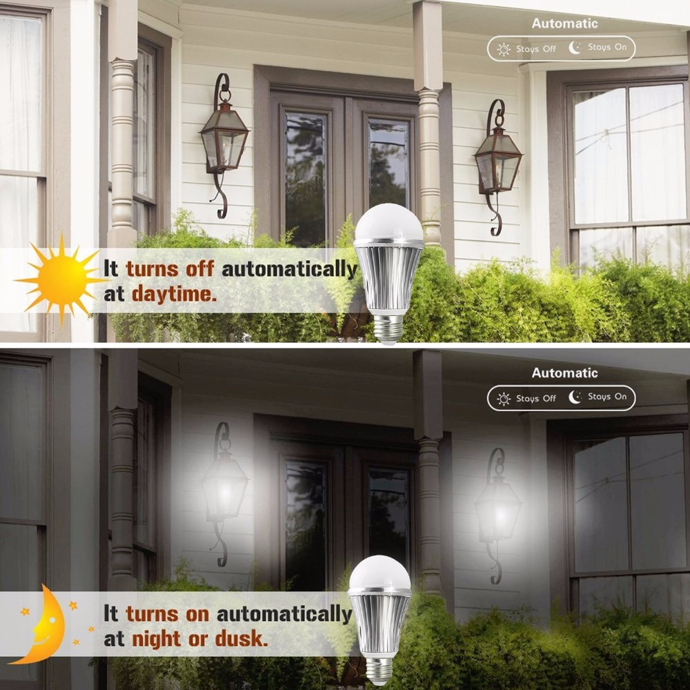 Lâmpadas Led e Tubos carcaça de alumínio para casa Lamp Base : E27 Edison