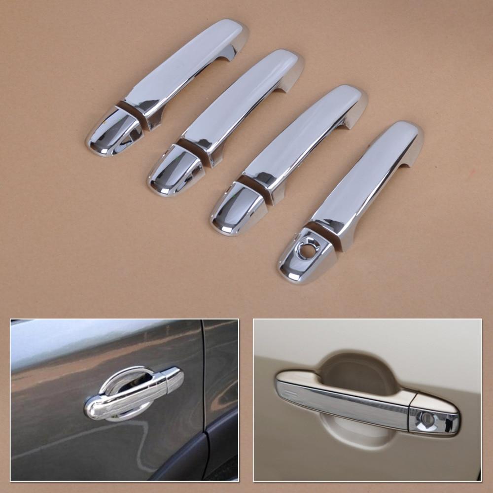 Dwcx New Arrival Car Exterior Chrome Door Handle Cover Trim Car Decorative Styling Fit For