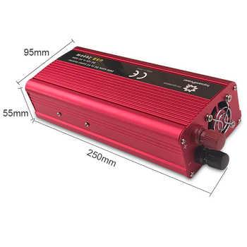 1500W/2000W/2600W Car Inverter DC 12V/24V to AC 220V Power Inverter Portable Charger Adapter Converter Cigarette Lighter Plug