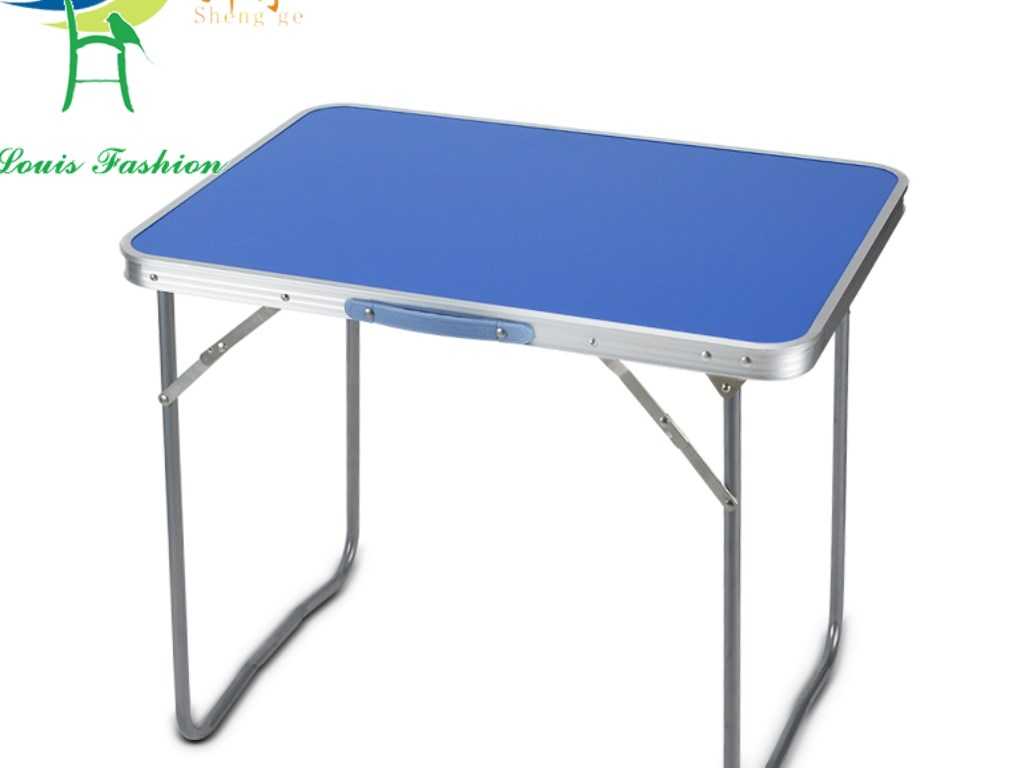 Aluminium alloy folding table table computer desk and for Small folding desk table