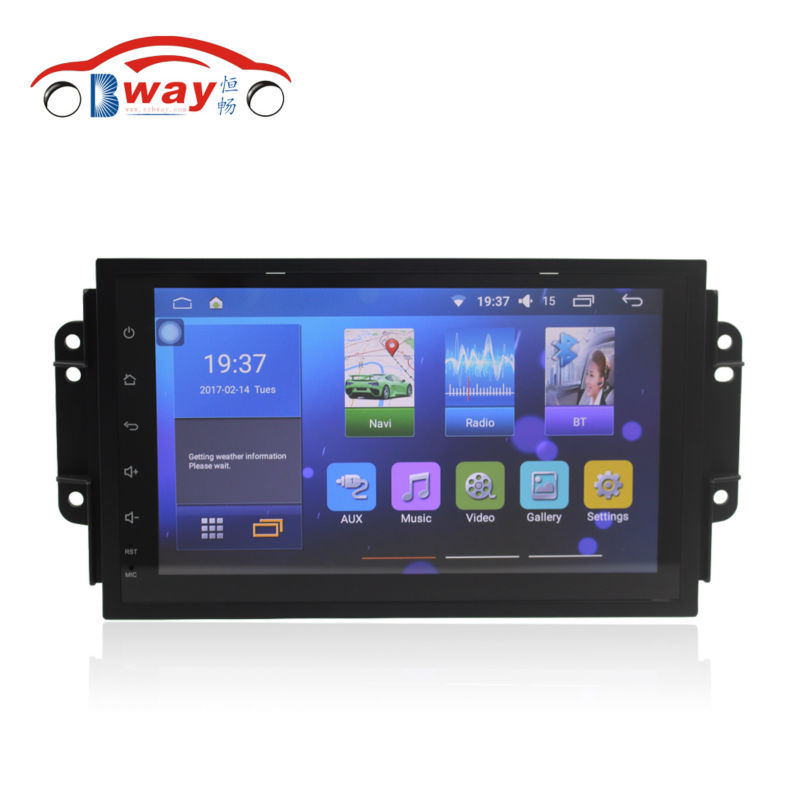 Bway 9 car radio for Chery Tiggo 3X android 6 0 1 car dvd player with
