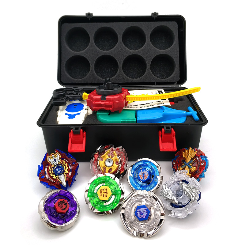 Beyblade Burst Set Toupie Beyblades Metal Fusion Beyblades Set Storage Box Top bey blade Launcher Beyblade Toys For Children Boy цена