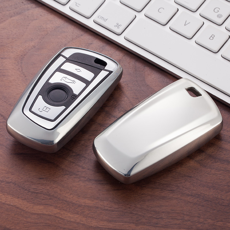 <font><b>Car</b></font> Key Shell Cover Case For <font><b>BMW</b></font> F10 F20 F30 NEW 1 <font><b>3</b></font> 4 5 6 7 Series X3 X4 320I 116I 118I 328I 530I E46 E39 E90 E36 E60 E34 E30 image