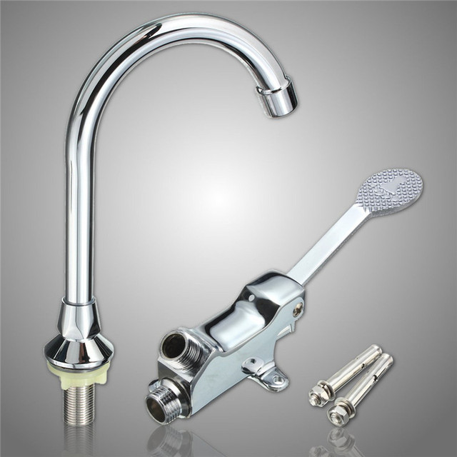 faucet water kitchen pedal grohe large faucets fwsamkpggpexdkr foot with images save