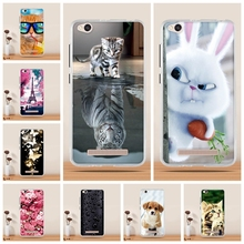 3D Printed Soft Silicone Case For Xiaomi Redmi 4A