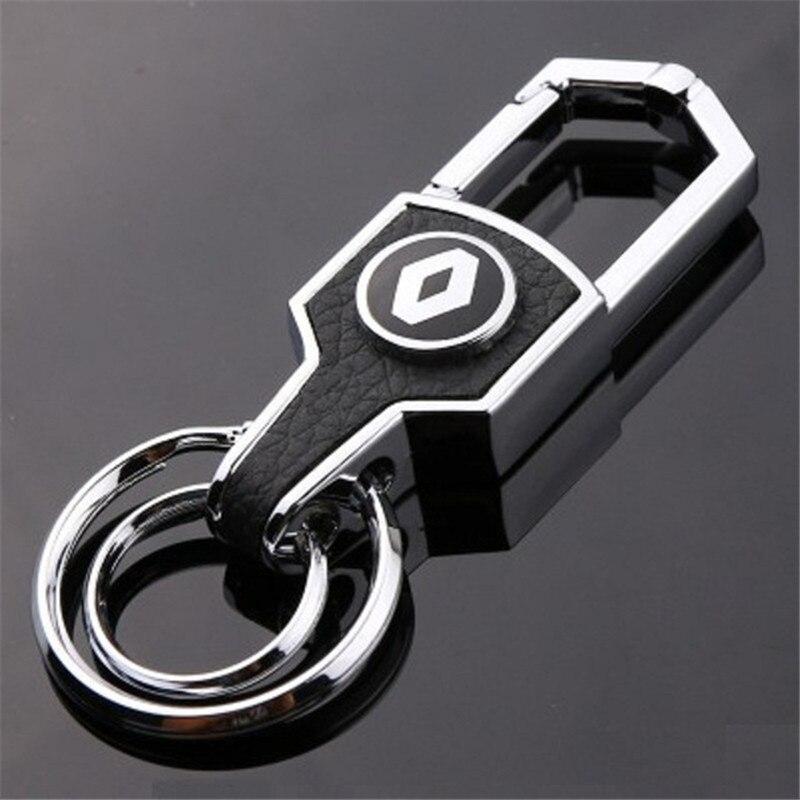 Honda Navy Blue Logo Metal Aluminum Valet Pull Apart Key Chain Ring Fob