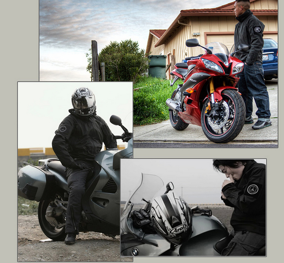 Chaqueta de la motocicleta de piel Lurker Tiburón Soft Shell TAD V 4.0 Outdoor J