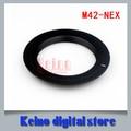 Super slim Lente M42-NEX Para M42 Lente Anillo Adaptador de montaje S y NY NEX E Mount cuerpo NEX3 NEX7 NEX5 N NEX-5R NEX6
