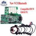 Relés Novo VCI CDP Scanner de Bluetooth Com Novo NEC V2015.01 TCS CDP Scanner PRO Como CDP livre Ativo MVDIAG + Carro cabos