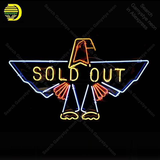 Sold Out NEON SIGN REAL GLASS Tubes BEER BAR PUB Sign Super LIGHT SIGN Business STORE DISPLAY ADVERTISING LIGHTS lamp for sale