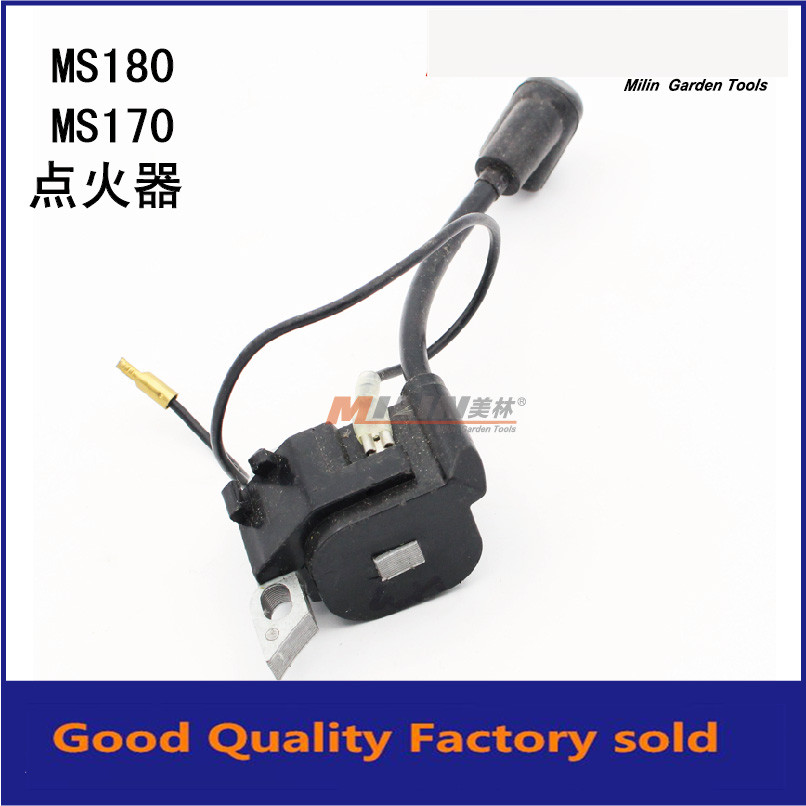 US $26 0 |IGNITION COIL FOR CHAINSAW 018 017 MS180 MS170 FREESHIPPING CHEAP  CHAIN SAW IGNITOR MAGNETO COIL REPLACE OEM PART#1130 400 1302-in Tool