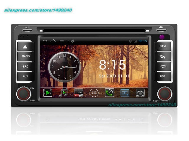 Cheap Liandlee For Toyota Regius Ace 2004~2013 2 din Car Android GPS Navi Navigation Maps Radio CD Audio Video Stereo DVD Player 2