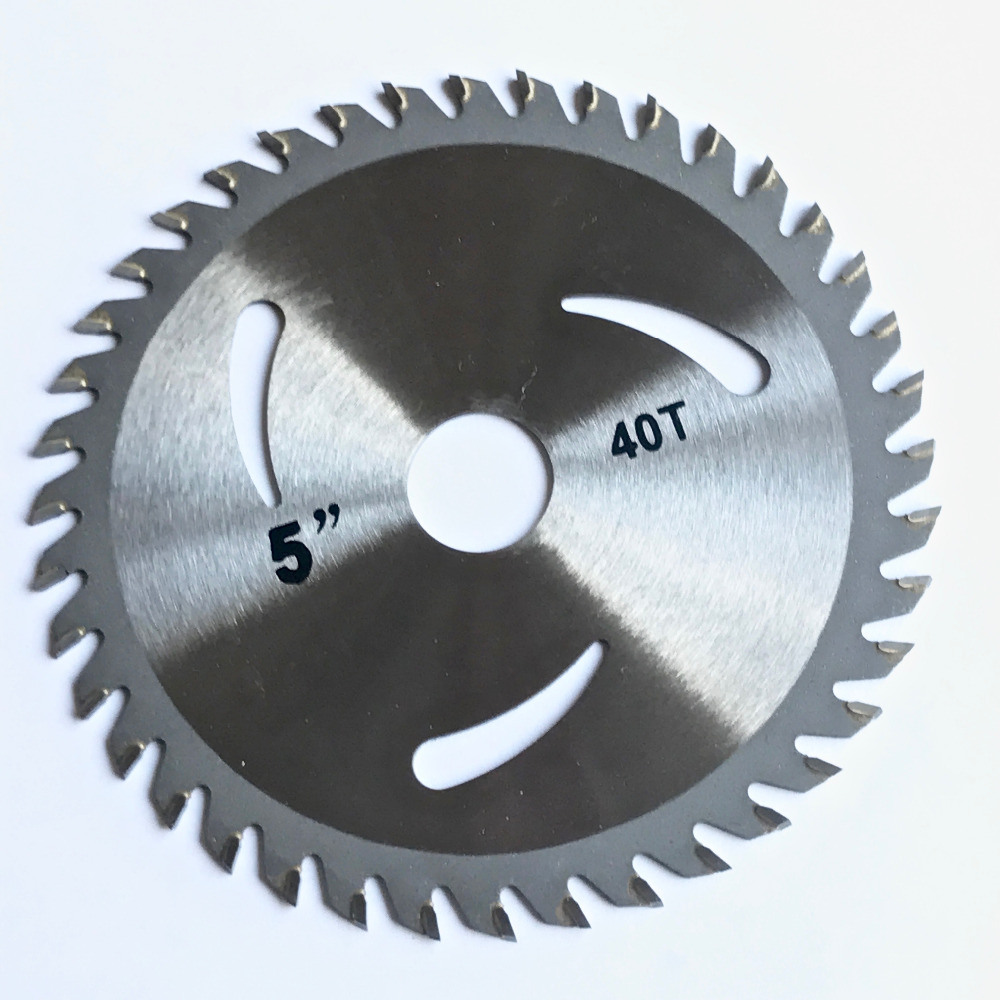 Image 3 - Free shipping of 1PC 125*22/20*30T/40T TCT saw blade carbide tipped wood cutting disc for DIY&decoration general wood cutting-in Saw Blades from Tools
