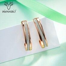 Viennois boucles doreilles pour femme couleur argent & or femme petites boucles doreilles couleur mixte marque bijoux