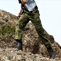 2017 fashion Male Camouflage pants bags of clothes trousers casual military casual pants loose plus size