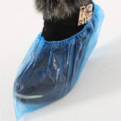 Шт. 1 Упак./водонепроницаемые бахилы шт. медицинские одноразовые бахилы Пластиковые 100 непромокаемые бахилы грязезащитный синий цвет
