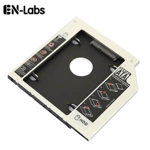 En-Labs 2.5 inches SATA 2nd HDD/SSD HARD DRIVE SATA to SATA caddy Tray for 9.5mm Laptop Universal CD/DVD-ROM Optical Bay Slot