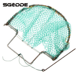 Image 3 - Outdoor Hunting 300mm/12inch Bird Net Effective Live Trap Hunting Sensitive Quail Humane Trapping Polyethylene Net + Steel Frame