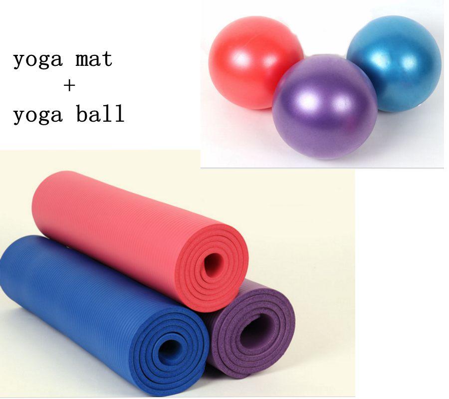 Non Slip Yoga Mat Pilates Mat Yoga Ball Pilates Ball