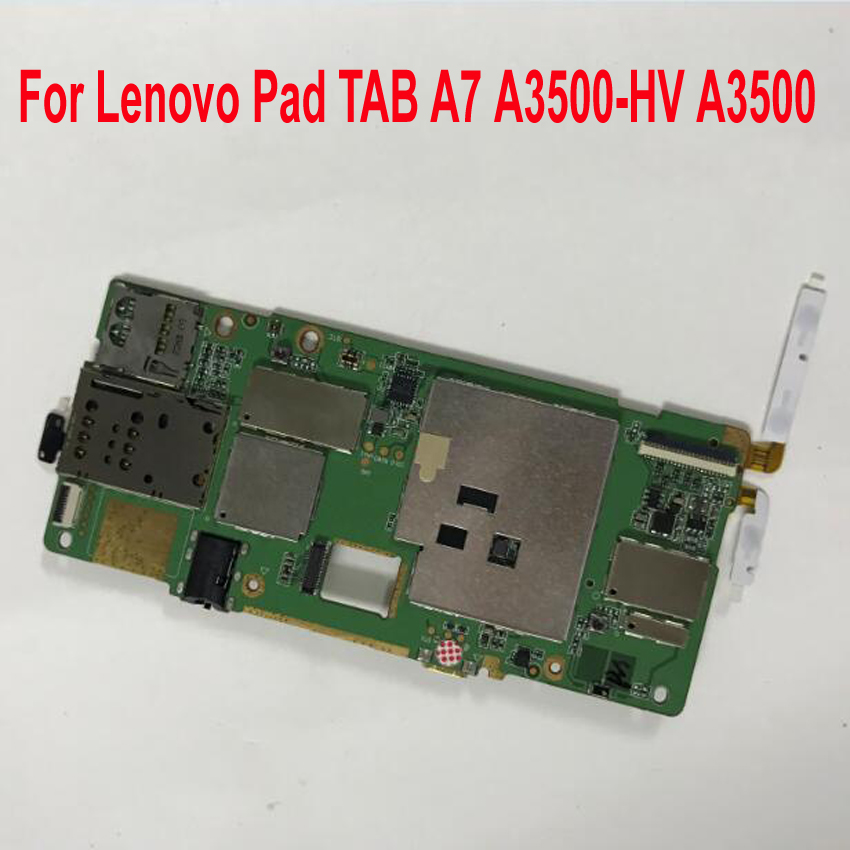 100 Working Mainboard For Lenovo Pad TAB A7 A3500 HV A3500 16GB Tablet Motherboard Logic Circuit