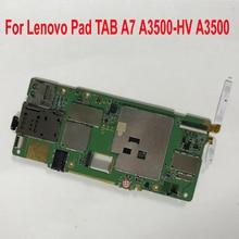Работающая материнская плата для lenovo Pad TAB A7 A3500-HV A3500 16 Гб планшеты материнской плате печатная плата основная плата Flex кабель