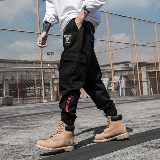 Style Men's Sweatpants Fashion  High Street Casual Pants Mens Streetwear Pants