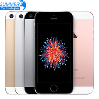 Original Unlocked Apple iPhone SE 4G LTE Mobile Phone iOS Touch ID Chip A9 Dual Core 2G RAM 16/64GB ROM 4.012.0MP Cell Phone
