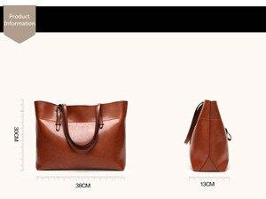 Image 5 - SWDF sac à main en cuir pour femmes, fourre tout de styliste grande capacité, sacs à bandoulière loisirs mode, fourre tout