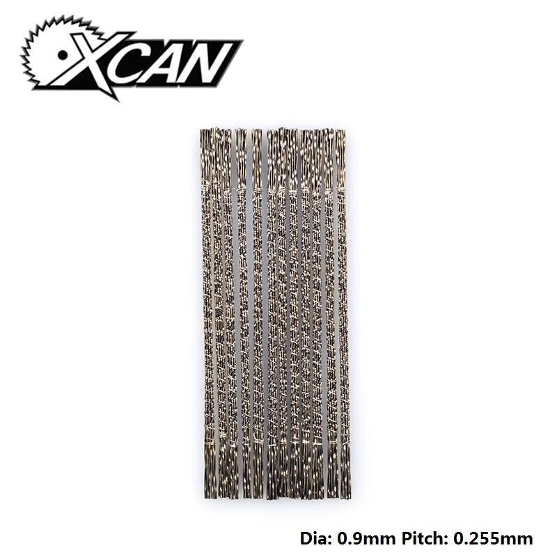 XCAN 144 pièces lames de scie à spirale lames de scie sauteuse dents spiralées 3 # lames de scie pour la sculpture