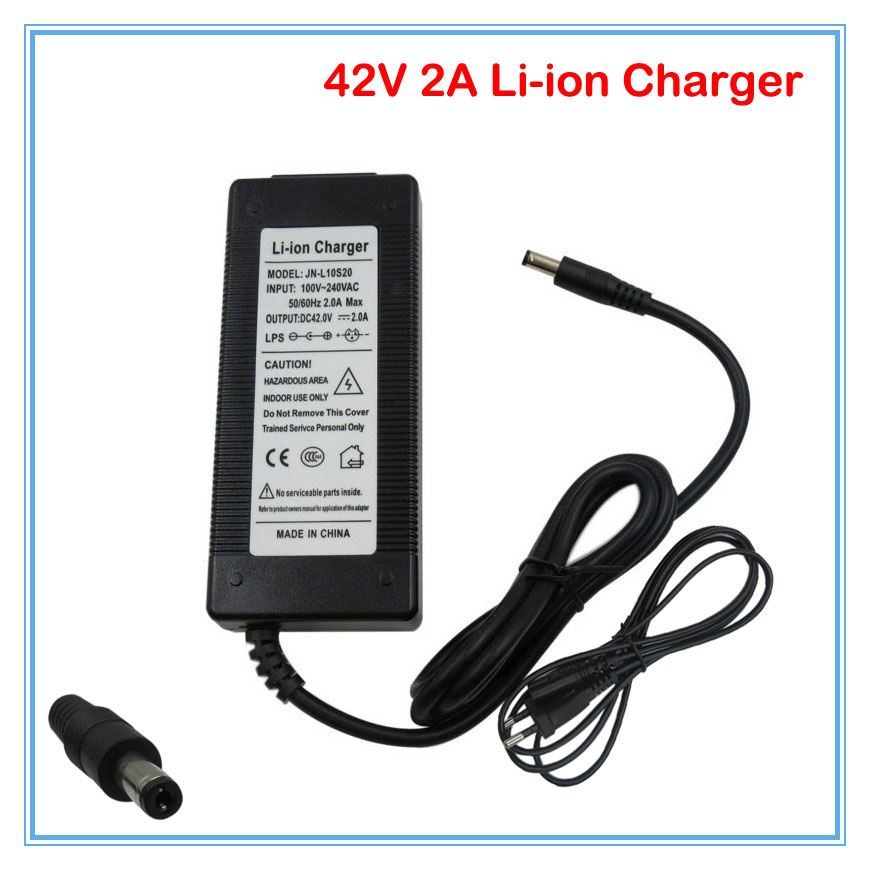 Back To Search Resultsconsumer Electronics Wholesale 20pcs/lot 42v 2a Charger 36v 2a Li-ion Charger Input 100-240vac Used For 36 Volt 10s Electric Bike Dhl Free Shipping