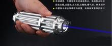 Big discount Super Powerful! 50000MW 50W Super Blue Laser Pointer Flashlight Burn Burning / Cutting / Laser Pointer Blue illumination 5000 m