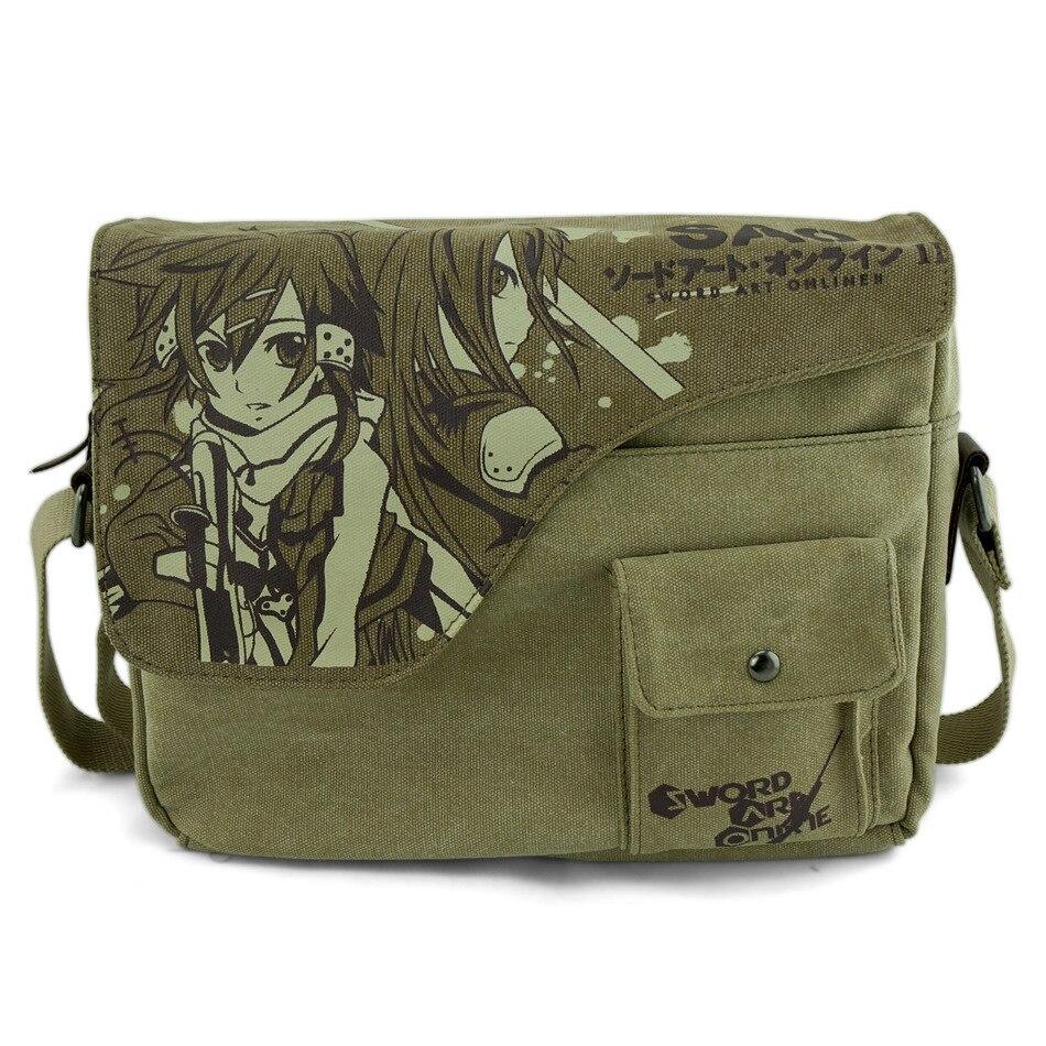 2015 Hot anime SAO anime bag cosplay accessory Sword art Online Cartoon daily bag anime sword art online sao backpack cartoon school travel bag for teenagers nylon mochila escolar rucksack shoulders bag package