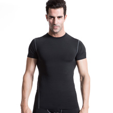 Men's PRO Compression Top Under Base Layer Short Sleeve T-shirts slim Wear bodybuilding fitness Jerseys