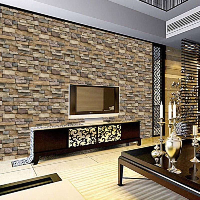 3d wall panels peel and stick brick wallpaper for living room