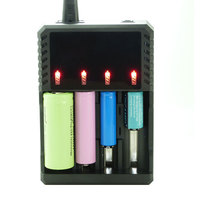 Universal Battery charger Digital Intelligent 4 Slot Battery 18650/26650/16340/14500/10440/18500 Battery Charger for 18650