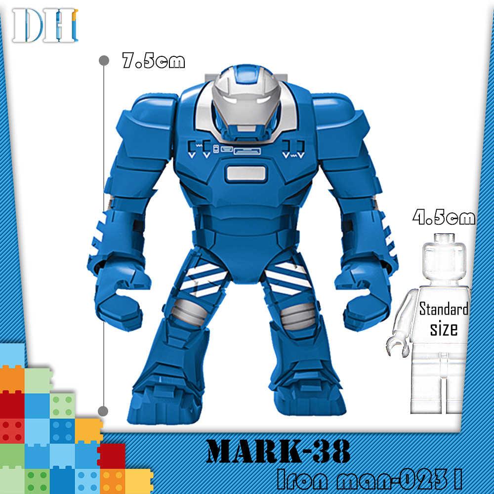 ビッグバットマン大 Mr298 暴動大虐殺アイアンマン Monger むち打ち症ハルクバスターのビルディングブロックのおもちゃ