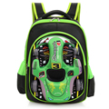 RORETE mochilas crianças mochilas escolares de alta qualidade do carro 3D Dos Desenhos Animados mochila de grande capacidade bolsa de Viagem Mochila para meninos das meninas X679