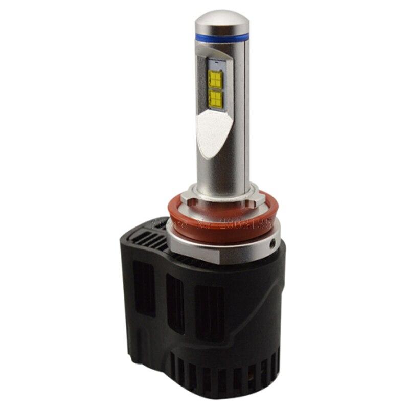 P6 H11 H8 H9 55 W 10400LM voiture remplacement Phare LED Ampoule Lampe De pièces automobiles pour MZ Voiture LED PUCE 3000 K 4000 K 5000 K 6000 K