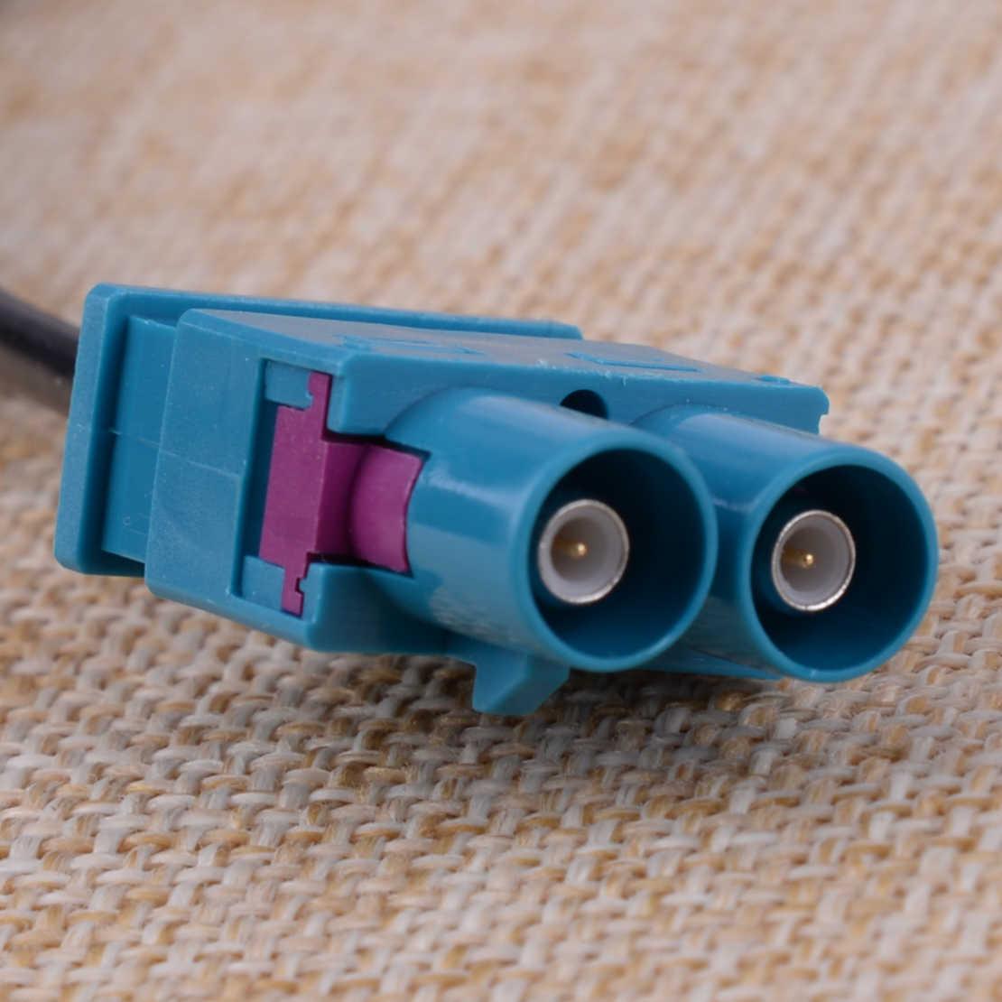CITALL 車の自動車インナー 2 に 1 ダブル Fakra ラジオアンテナアダプタに RCD330 ためにコロンバスアウディ VW RNS RCD 510 310 315 210