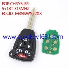Для chrysler 5 + 1 кнопку 315 мГц M3N5WY72XX дистанционного ключа автомобиля