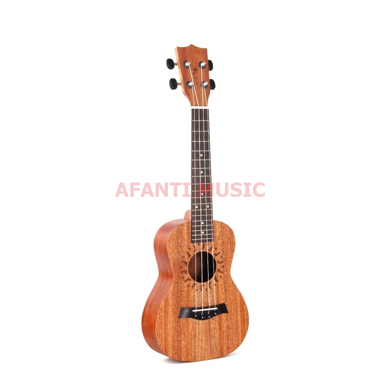 Afanti  Music Mahogany / 21 inch / 23 inch / 26 inch Ukulele (DGA-261) 13 inch double tone afanti music snare drum sna 109 13