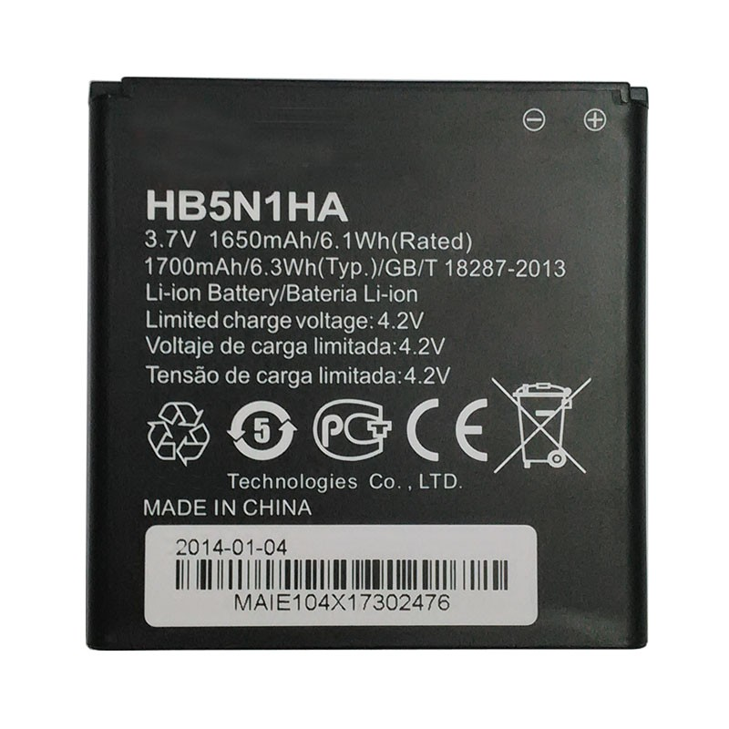 RNX Genuine Battery HB5N1HA For Huawei Ascend D300 U8818 U8815 U8680 U8730 G300 G330 Y330 U8825 V8825 M660 Phone Accu AKKU ...