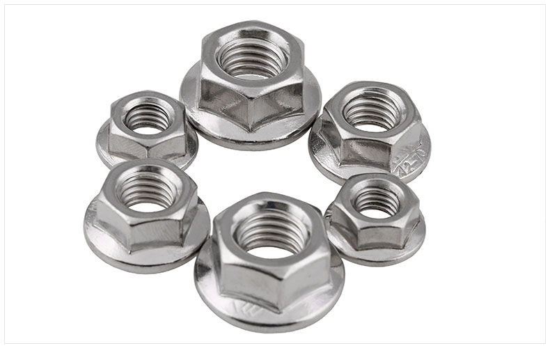 DIN6923 201/304/316 stainless steel flange nuts hexagon nuts anti-slip tooth nuts M3 M4 M5 M6 M8 M10 M12 M16 nut gb923 copper cap nuts half round hexagon nuts m3 m4 m5 m6 m8 m10 m12 m14 m16 m18 m20 nut decorative nut ball screw cap